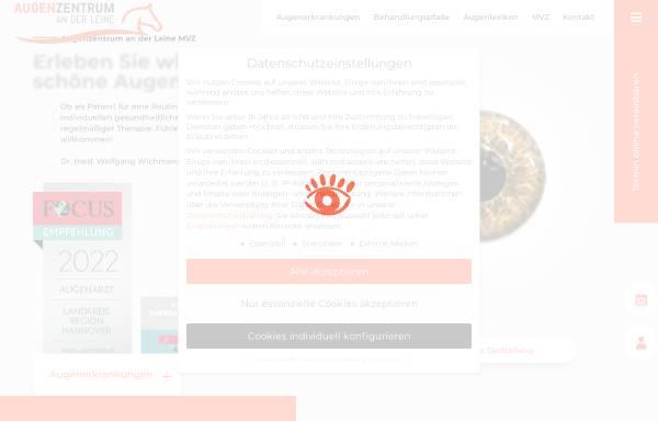 Vorschau von www.augencenter.de, MVZ Schöne Augenblicke