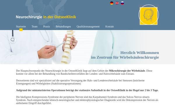 Vorschau von cortbus.de, Dr. med. Frieder Cortbus - Zentrum für Wirbelsäulenchirurgie