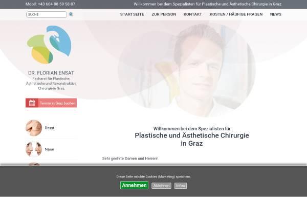 Vorschau von www.dr-ensat.at, Dr. Florian Ensat
