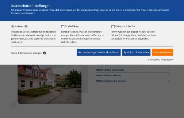 Vorschau von www.ameos.eu, Ameos Klinikum Dr. Heines