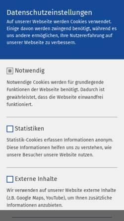 Vorschau der mobilen Webseite www.ameos.eu, Ameos Klinikum Dr. Heines
