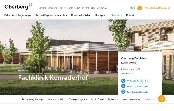 Vorschau von www.somnia-kliniken.de, Klinik Konraderhof