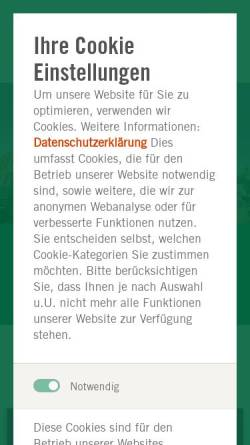 Vorschau der mobilen Webseite www.asklepios.com, Asklepios Klinik Nord - Ochsenzoll