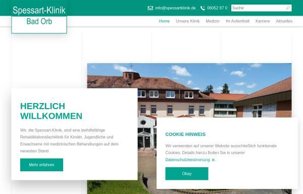 Vorschau von spessart-klinik.de, Spessart-Klinik Bad Orb