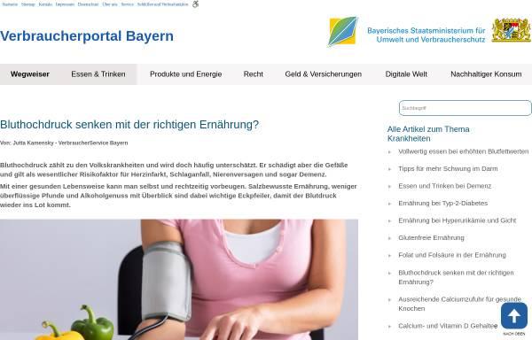 Vorschau von www.vis.bayern.de, Bluthochdruck