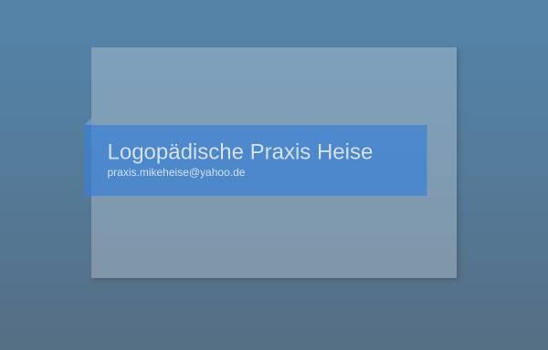 Vorschau von www.xn--logopdie-heise-9hb.de, Logopädische Praxis Heise