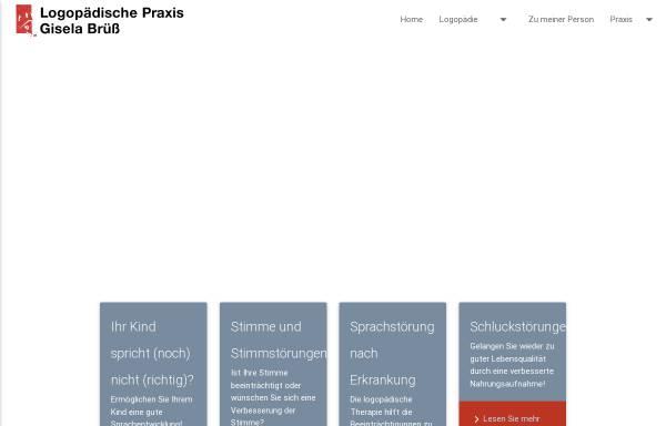 Vorschau von www.logopädie-lahnau.de, Logopädische Praxis Gisela
