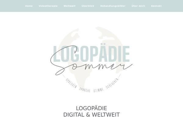Vorschau von logopaedie-sommer.de, Logopädische Praxis Sommer