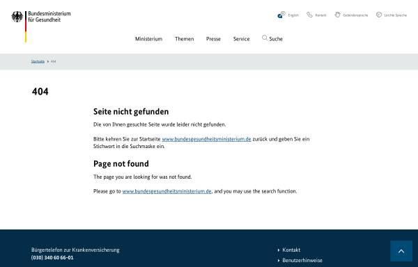 Vorschau von www.bundesgesundheitsministerium.de, Nationaler Krebsplan - Bundesministerium für Gesundheit Deutschland