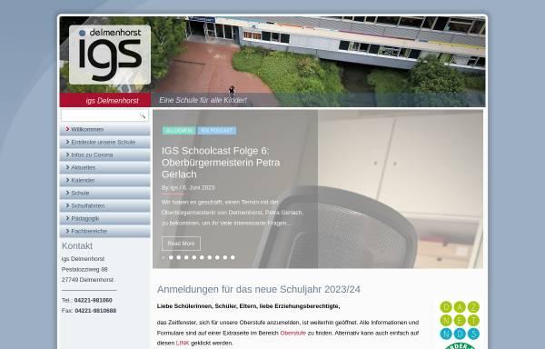 Vorschau von www.igs-delmenhorst.de, Integrierte Gesamtschule Delmenhorst (IGS)