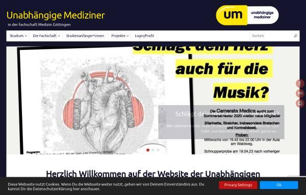 Vorschau von um-goe.de, Unabhängige Mediziner Göttingen e.V.