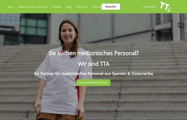Vorschau von www.tta-personalmedizin.de, TTA Personal GmbH