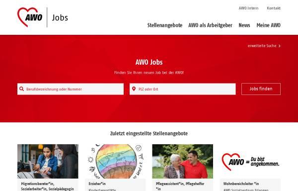 Vorschau von www.awo-stellenboerse.de, AWO Stellenbörse