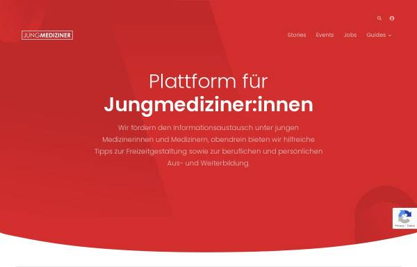 Vorschau von www.jungmediziner.net, Jungmediziner