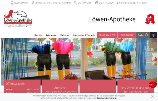 Vorschau von www.loewen-apotheke-del.de, Löwen-Apotheke