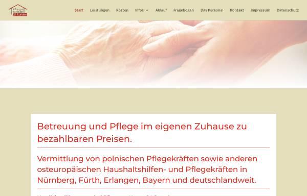Vorschau von www.pflegezuhause24stunden.de, Pflege zu Hause 24 Stunden, Tiberius Sztolar