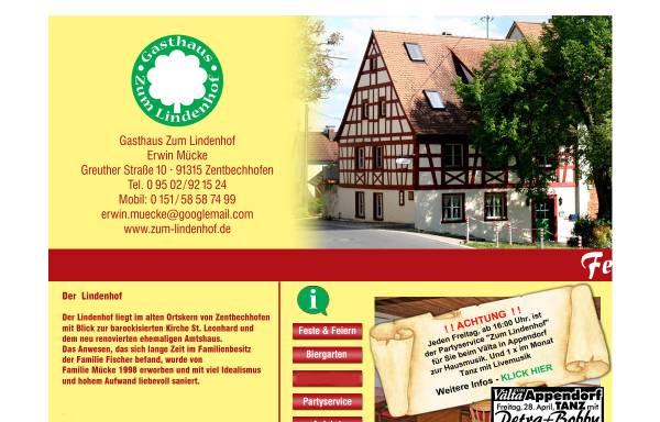 Vorschau von www.zum-lindenhof.de, Restaurant Zum Lindenhof