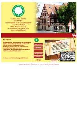 Vorschau der mobilen Webseite www.zum-lindenhof.de, Restaurant Zum Lindenhof