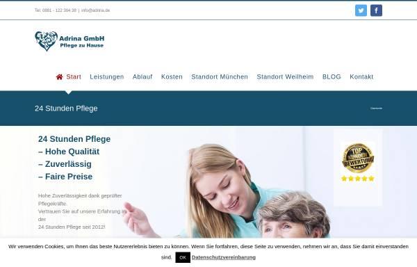 Vorschau von www.seniorenbetreuung-oberbayern.de, Seniorenbetreuung Oberbayern