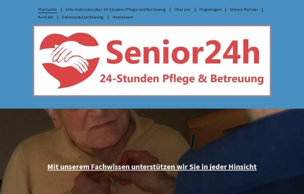 Vorschau von www.senior24h.de, Senior24.de