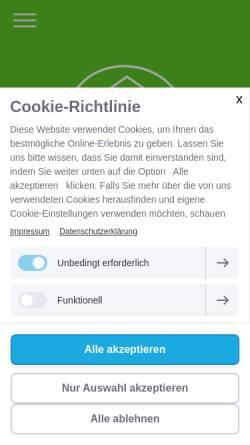 Vorschau der mobilen Webseite www.rundum-seniorenbetreuung.de, Rundum Seniorenbetreuung