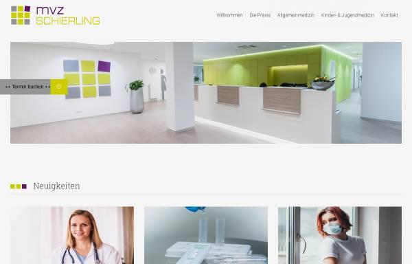Vorschau von www.mvz-schierling.de, MVZ Schierling