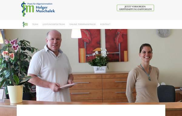Vorschau von www.praxis-muschalek.de, Muschalek, Holger