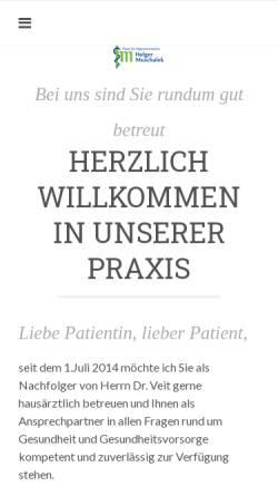 Vorschau der mobilen Webseite www.praxis-muschalek.de, Muschalek, Holger