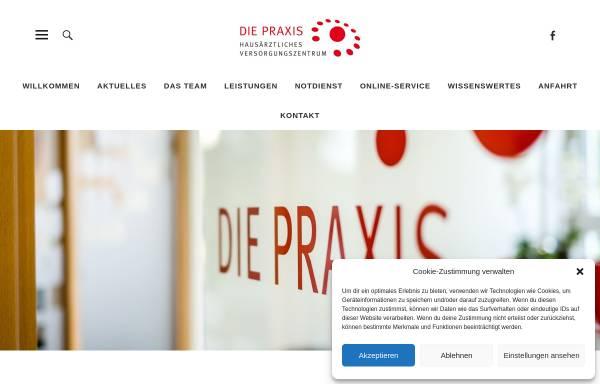 Vorschau von diepraxis-harz.de, Die Praxis