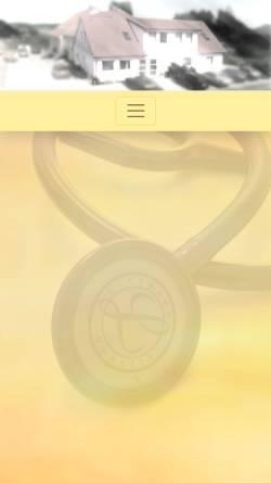 Vorschau der mobilen Webseite www.praxis-pirouzmandi.de, Hausarztpraxis Pirouzmandi