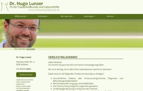 Vorschau von www.frauenarztpraxis.at, Lunzer, Dr. Hugo