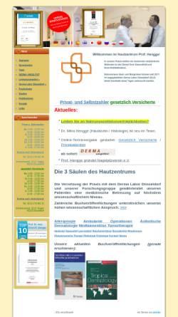 Vorschau der mobilen Webseite www.hautzentrum-hengge.de, Hengge, Prof. Dr. med. Ulrich