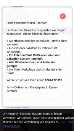 Vorschau der mobilen Webseite www.heermann-lutz.de, Lutz, Dr. med. Jörg