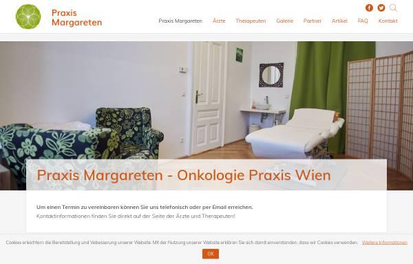 Vorschau von www.praxis-margareten.at, Onkologie Zentrum Wien