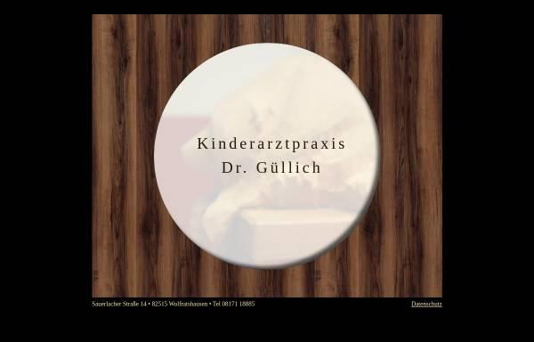 Vorschau von www.drguellich.de, Praxis Dr. med. Otto Güllich