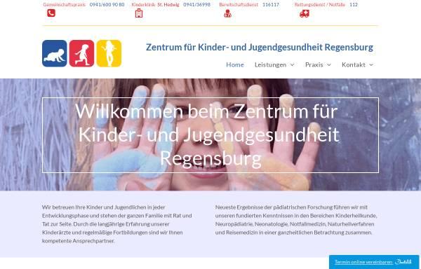 Vorschau von www.kinderarzt-regensburg.de, Dr. med. Judith Glöckner-Pagel, Dr. med. Bettina Meinel, Guido Judex