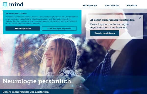 Vorschau von www.mind-stuttgart.de, Neuro MVZ Stuttgart