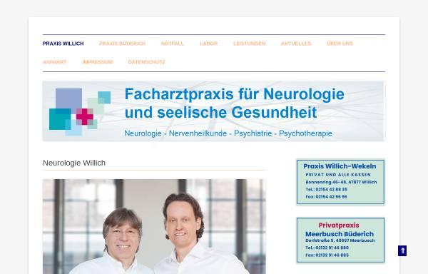 Vorschau von neurologie-niederrhein.de, Facharztpraxis für Neurologie und seelische Gesundheit