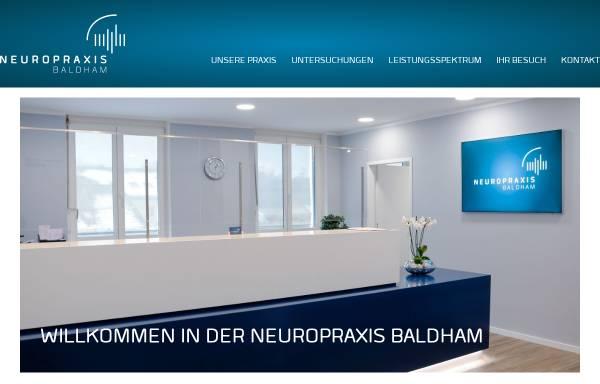 Vorschau von neuro-baldham.de, Briesenick, Dr. med. Claus und Förster, Dr. med. Sabine
