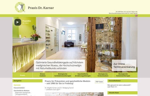Vorschau von www.schmerzfreizentrum-freiburg.de, Schmerzfrei Dr. Karner
