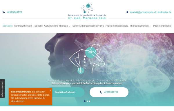 Vorschau von feelgood-doktor.de, Dr. med. Marianne Feldmaier