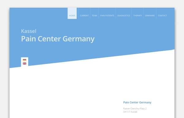 Vorschau von www.schmerzmedizin-kassel.de, Praxis für Schmerzmedizin Kassel