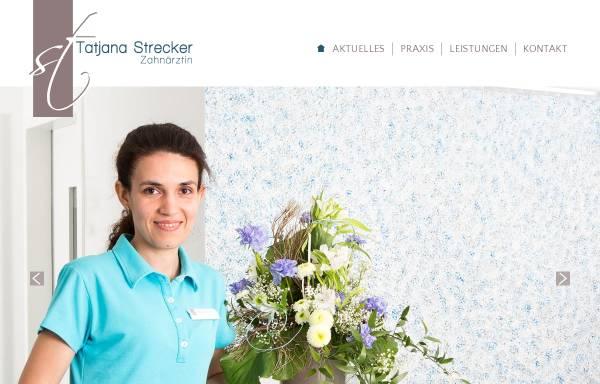 Vorschau von www.zahnarzt-bad-mergentheim.com, Zahnarztpraxis Tatjana Strecker