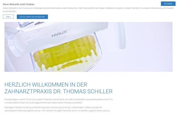 Vorschau von www.olching-zahnarzt.de, Zahnarztpraxis Dr. Thomas Schiller