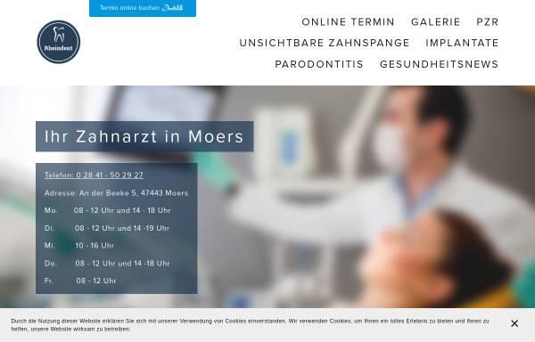 Vorschau von www.rheindent.com, Rheindent Zahnarztpraxis Javadi und Kollegen