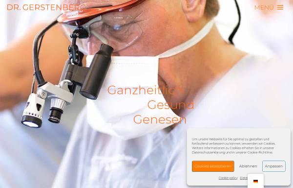 Vorschau von www.dr-gerstenberg.de, Dr. Peter Gerstenberg