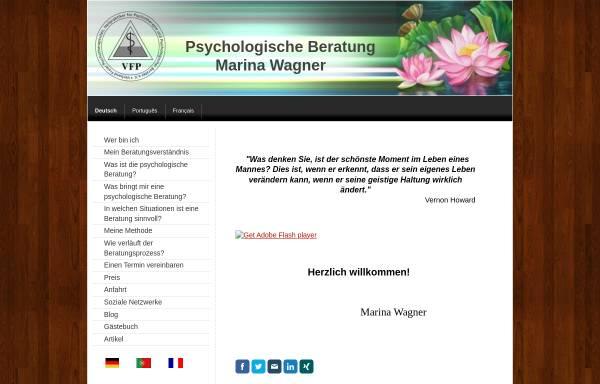 Vorschau von www.psychologe-stuttgart-wagner.de, Marina Wagner