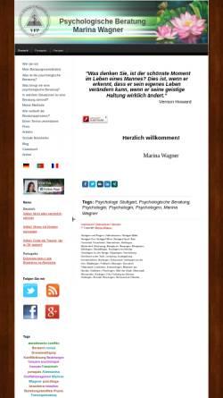Vorschau der mobilen Webseite www.psychologe-stuttgart-wagner.de, Marina Wagner