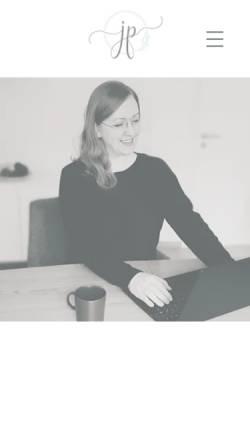 Vorschau der mobilen Webseite www.dein-leben-in-balance.com, Juliane Pavel