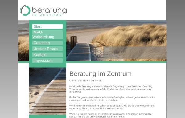 Vorschau von www.beratung-im-zentrum.de, Bettina Maria Metsch